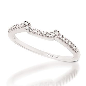 Le Vian 14ct Vanilla Gold Diamond Bridal Band - Product number 3582213