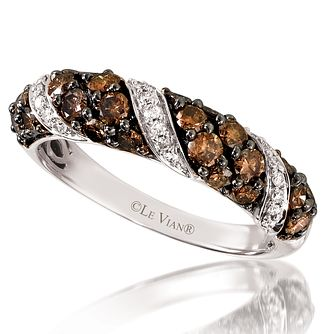 Le Vian 14ct Vanilla Gold One Carat Diamond Ring - Product number 3583678