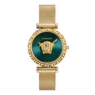 Versace Palazzo Ladies' Gold Tone Bracelet Watch - Product number 3594483