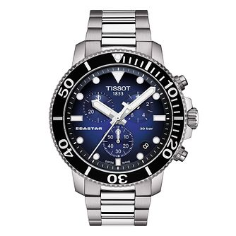 Tissot Seastar 1000 Men's Stainless Steel Bracelet Watch - Product number 3597261