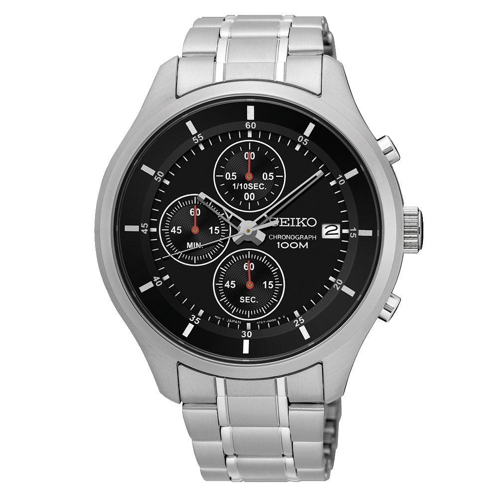 Seiko Chronograph Men's Stainless Steel Bracelet Watch - Product number 3597504