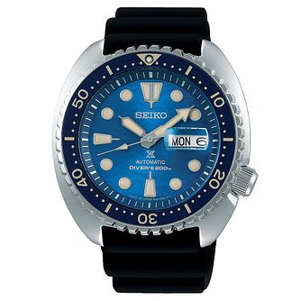 Seiko Prospex Save The Ocean King Turtle Men's Strap Watch - Product number 3597687