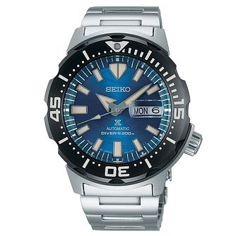 Seiko Prospex Save The Ocean Monster Stainless Steel Watch - Product number 3597695