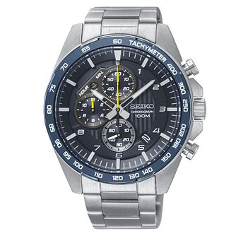 Seiko Chronograph Men's Stainless Steel Bracelet Watch - Product number 3597733