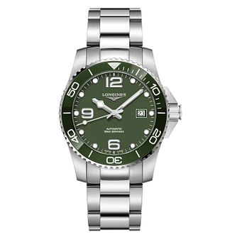 Longines Hydroconquest Men's Stainless Steel Bracelet Watch - Product number 3598330