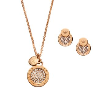 Emporio Armani Rose Gold Tone Jewellery Gift Set - Product number 3610187
