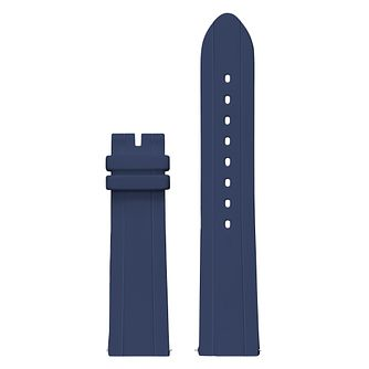 Guess Connect Touch Blue Silicone Interchangeable Strap - Product number 3619826