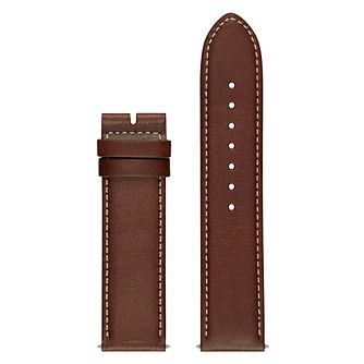 Guess Connect Touch Brown Leather Interchangeable Strap - Product number 3620743