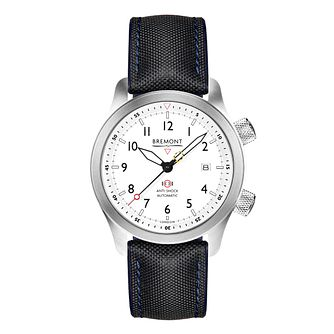 Bremont MBII-BL Men's Blue Fabric Strap Watch - Product number 3623629