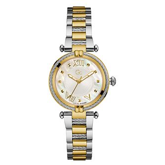 Gc CableChic Ladies' Two Tone Bracelet Watch - Product number 3623874