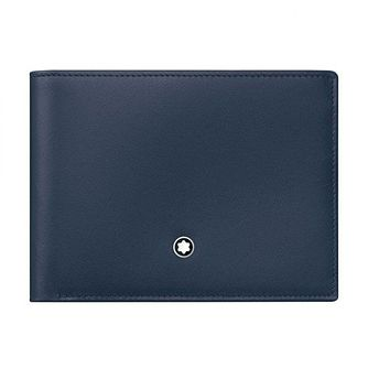 Montblanc Meisterstuck Men's Blue Leather Wallet - Product number 3625141