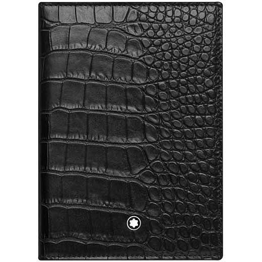 Montblanc Meisterstuck Black Leather Passport Holder