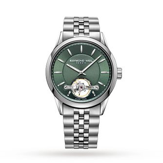 Raymond Weil Freelancer Men's Stainless Steel Bracelet Watch - Product number 3627608