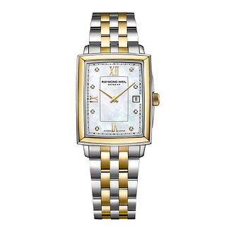 Raymond Weil Toccata Diamond Ladies' Two Tone Bracelet Watch - Product number 3627950