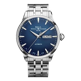 Ball Trainmaster Eternity Men's Steel Bracelet Watch - Product number 3629740