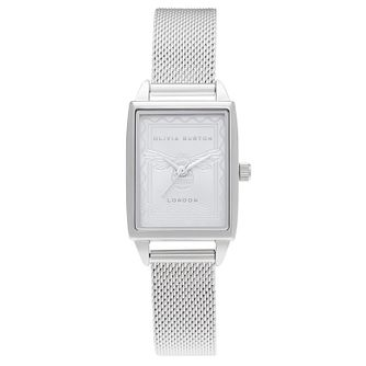 Olivia Burton London Stamp Stainless Steel Bracelet Watch - Product number 3634639