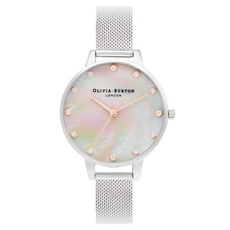 Olivia Burton Classic Ladies' Stainless Steel Bracelet Watch - Product number 3635945
