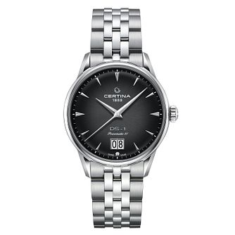 Certina DS-1 Big Date Men's Stainless Steel Bracelet Watch - Product number 3640620