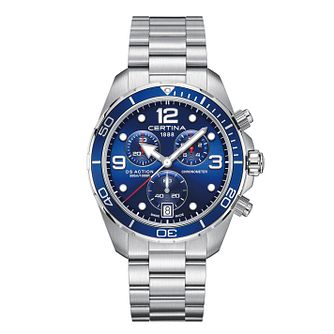 Certina DS Action Men's Stainless Steel Bracelet Watch - Product number 3640655
