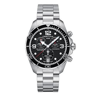 Certina DS Action Men's Stainless Steel Bracelet Watch - Product number 3640663