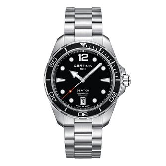 Certina DS Action Men's Stainless Steel Bracelet Watch - Product number 3640671