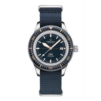 Certina DS PH200M Men's Blue Nato Strap Watch - Product number 3641686
