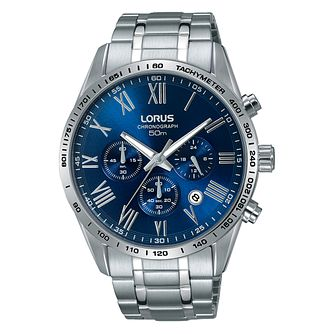 Lorus Men's Stainless Steel Chronograph Bracelet Watch - Product number 3654303