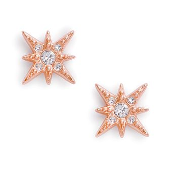 Olivia Burton North Star Crystal Gold Tone Stud Earrings - Product number 3654842