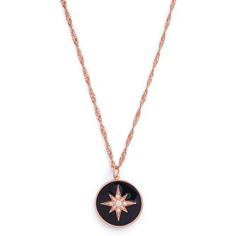 Olivia Burton North Star Crystal Gold Tone Disc Pendant - Product number 3654893