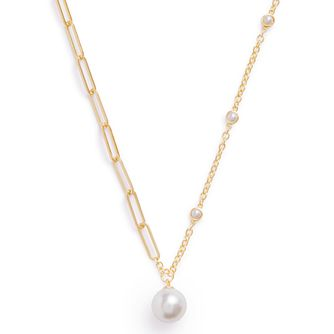 Olivia Burton Classic Yellow Gold Tone Faux Pearl Pendant - Product number 3654923