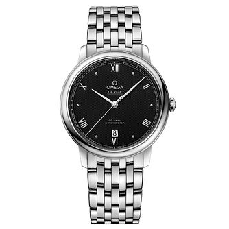 Omega De Ville Men's Stainless Steel Bracelet Watch - Product number 3657647