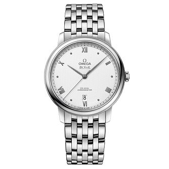 Omega De Ville Men's Stainless Steel Bracelet Watch - Product number 3657663