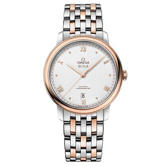 Omega De Ville Men's Two Tone Bracelet Watch - Product number 3657744