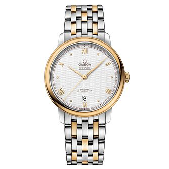Omega De Ville Men's Two Tone Bracelet Watch - Product number 3657752