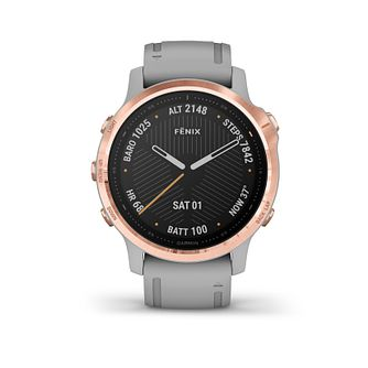 Garmin fenix 6S Sapphire Grey Silicone Strap Smart Watch - Product number 3658104
