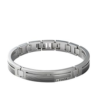 Fossil Men's Stainless Steel Semi-Bangle - Product number 3664325