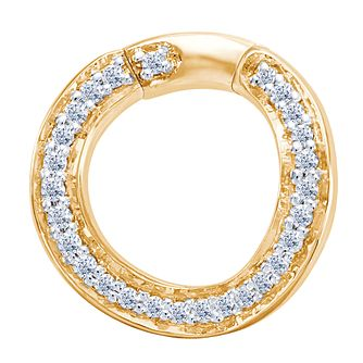 Miracle Links 14ct Gold 0.10ct Diamond Link - Product number 3665062