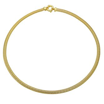9ct gold Italian necklet - Product number 3667278