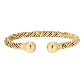 9ct Yellow Gold Italian Bangle - Product number 3667790