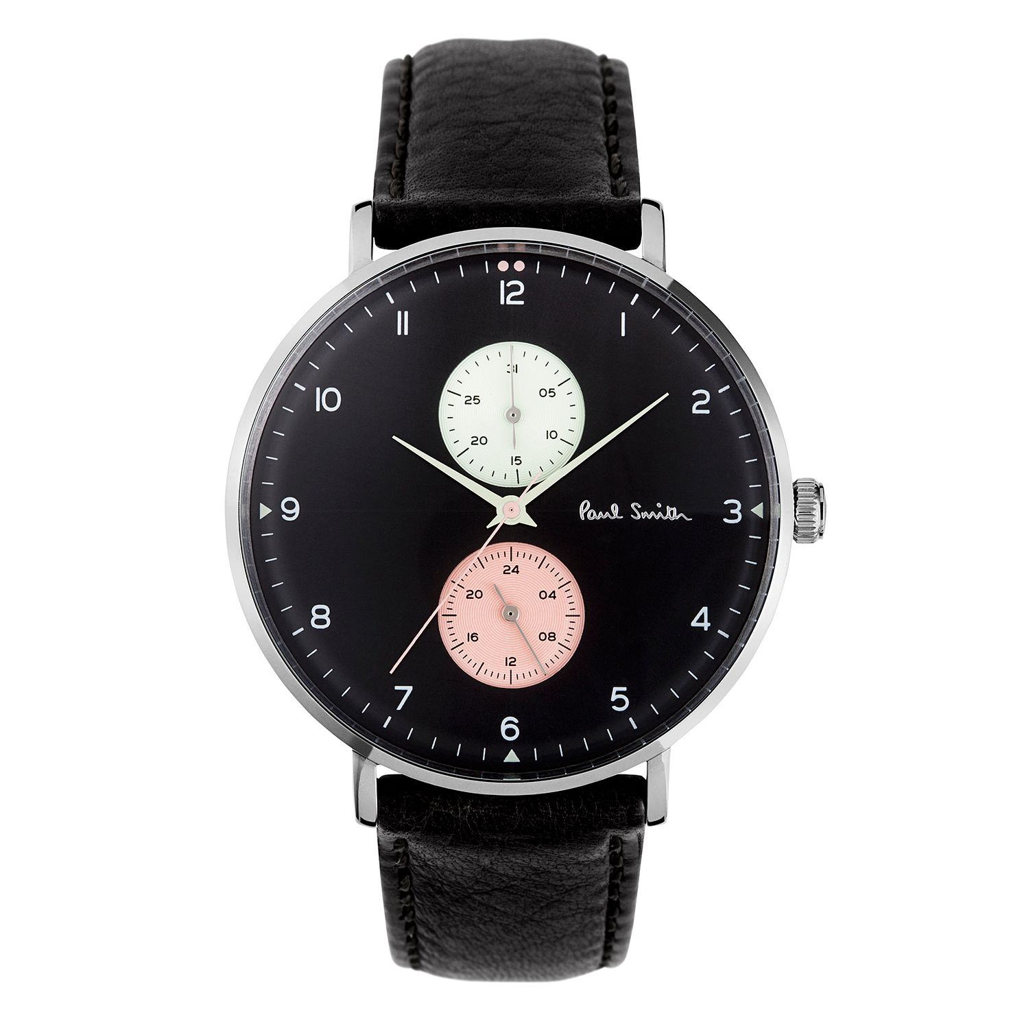 Paul Smith Track Men's Stainless Steel Black Strap Watch - Product number 3670147
