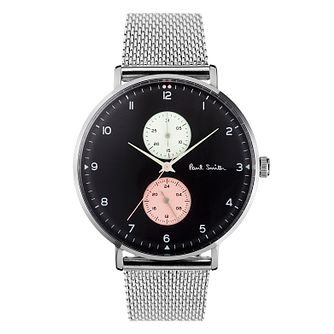 Paul Smith Track Men's Stainless Steel Bracelet Watch - Product number 3670163