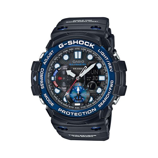 Casio G-Shock Gulfmaster Men's Black Resin Strap Watch - Product number 3671119