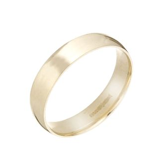 9ct Yellow Gold 5mm Extra Heavy Court Ring