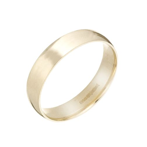 9ct Yellow Gold 5mm Extra Heavy Court Ring - Product number 3671542