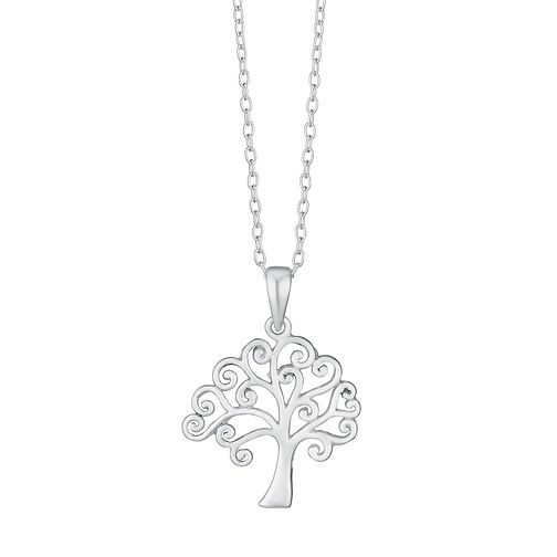 Sterling Silver Tree Of Life Design Pendant - Product number 3717003