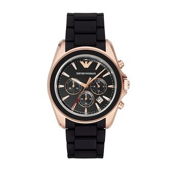 Emporio Armani Men's Rose Gold Tone Bracelet Watch - Product number 3723291
