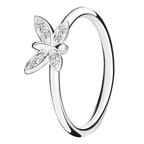 Chamilia Renewal sterling silver  & cubic zirconia ring XL - Product number 3724301