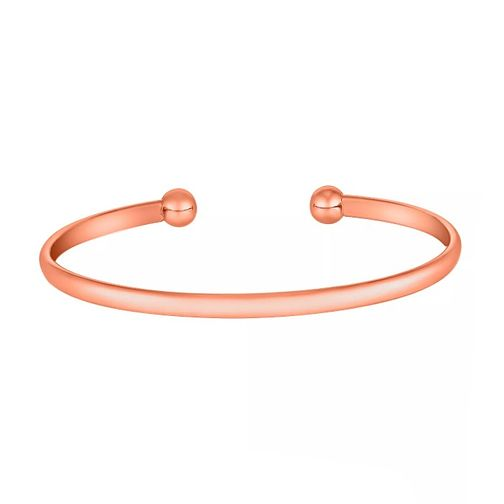 9881d69978c 9ct Rose Gold Torque Bangle - Product number 3728137