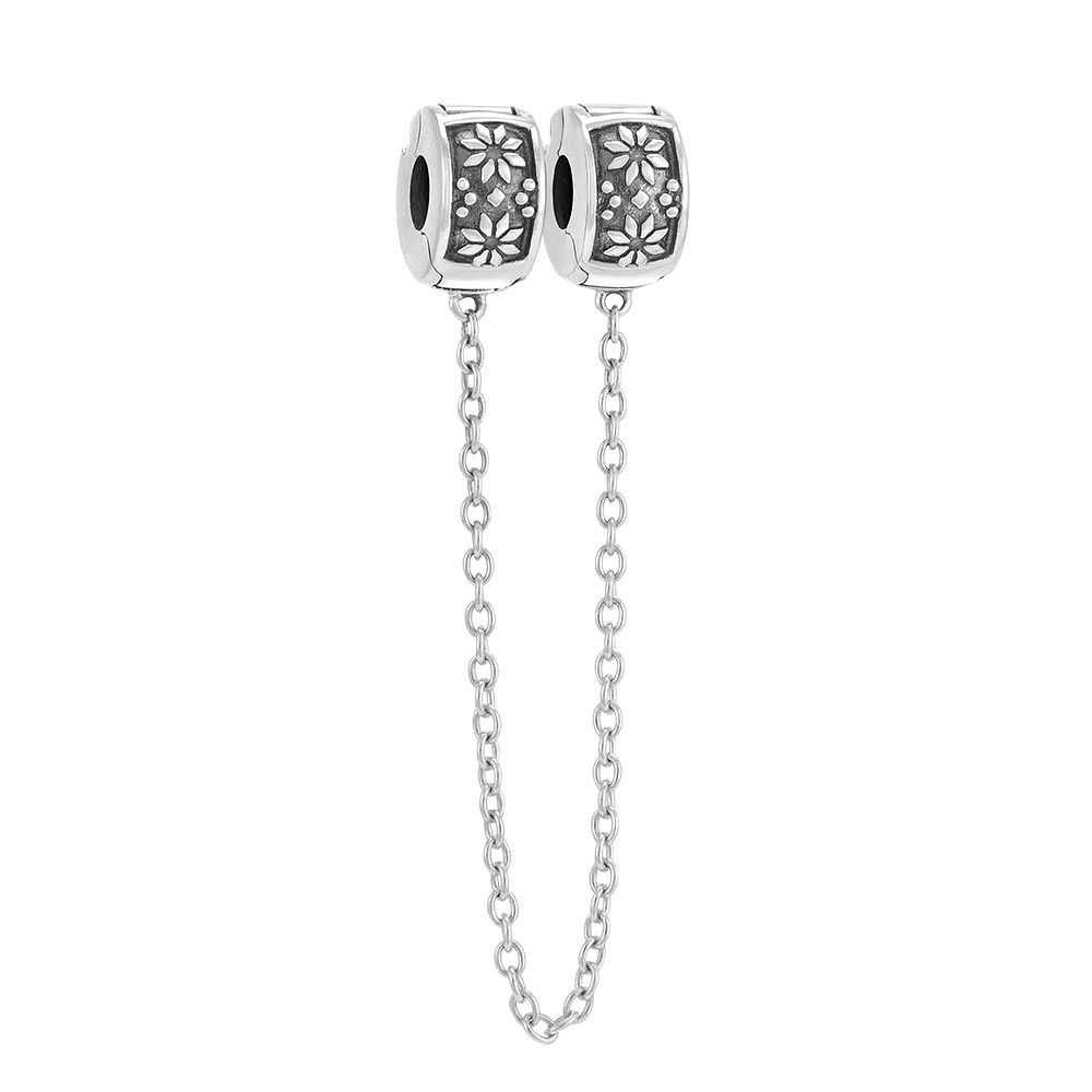 Chamilia Sterling Silver Nordic Safety Chain Lock Bead - Product number 3732029