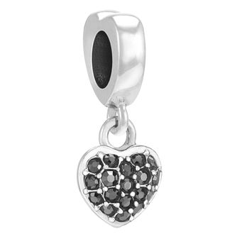 Chamilia Petite Heart sterling silver & Swarovski charm - Product number 3734900